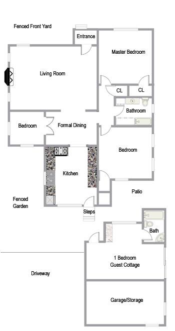 Floor Plans 835 West Mission Santa Barbara